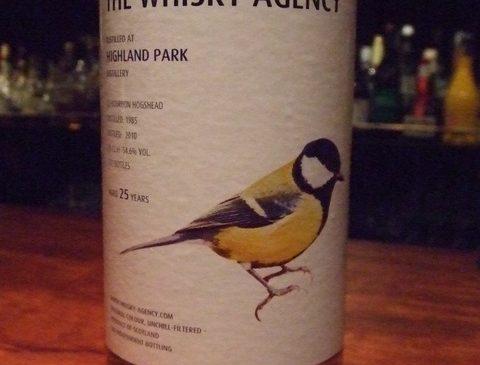 """ウイスキーエージェンシー""""BIRDS""""ハイランドパーク 25年 54.6%"""