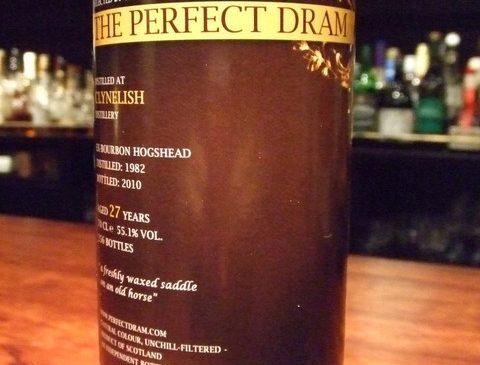 """ウイスキーエージェンシー""""The Perfect Dram"""" クライヌリッシュ 27年 55.1%"""