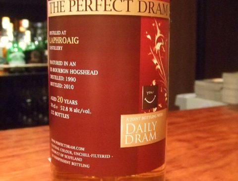 """ウイスキーエージェンシー""""The Perfect Dram""""ラフロイグ20年 52.8%"""