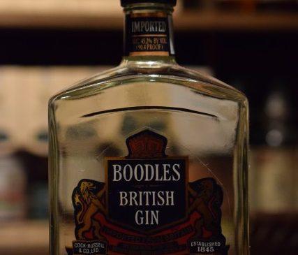 "BOODLES  ""British"" GIN"