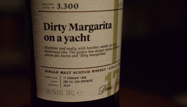"THE SCOTCH MALT SOCIETY ""Dirty Margarita"""
