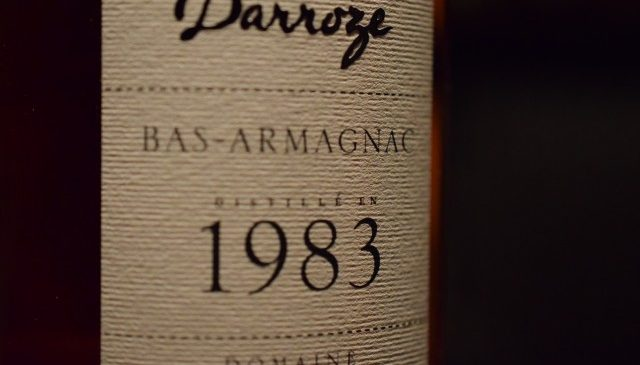 "Armagnac""TRINITY"" DARROZE 1983"