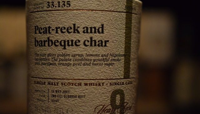 """Peat-reek and Barbeque cher"" Ardbeg"