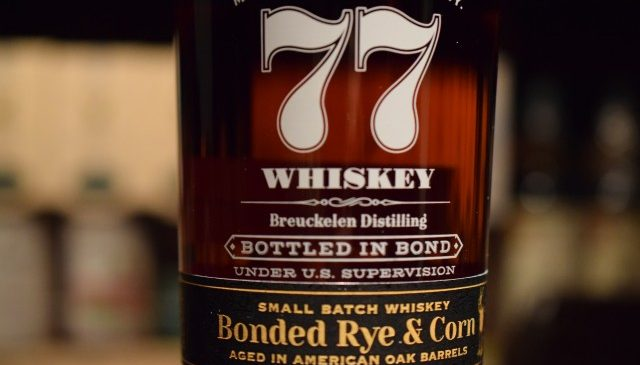 "Brooklyn Whiskey limited ""77WHISKEY Bonded"""