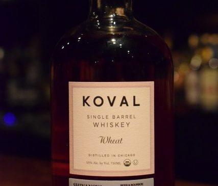 KOVAL Wheat SINGLE BARREL #1012 MILWAUKEE'S CLUB & SHINANOYA 55%