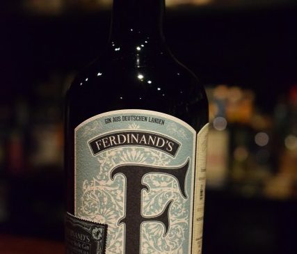 FERDINAND'S   SAAR   DRY GIN  EAU DE VIE STYLE GIN   JAPAN SPECIAL EDITION for SHINANOYA and Bar Nemanja 46%