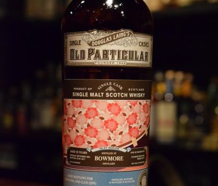 Douglas Laing  Old Particular  Bowmore 15y  A joint bottling for SHINANOYA & CLUB QING 55.6%