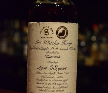 The Whisky Hoop  Signatory  Clynelish 23y     56.9%