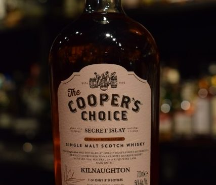 "The Cooper's Choice  Secret Islay ""Kilnaughton"" 54%"