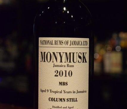 ラ・メゾン・ド・ウイスキー モニマスク 2010 MBS  National Rums of Jamaica 62%